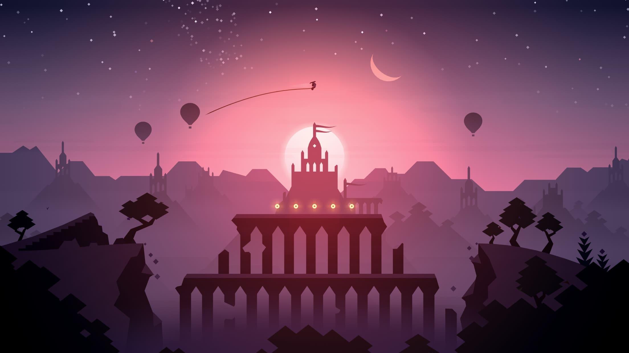 """Alto's Adventure"" and ""Alto's Odyssey"" are here to help while you're self isolating."