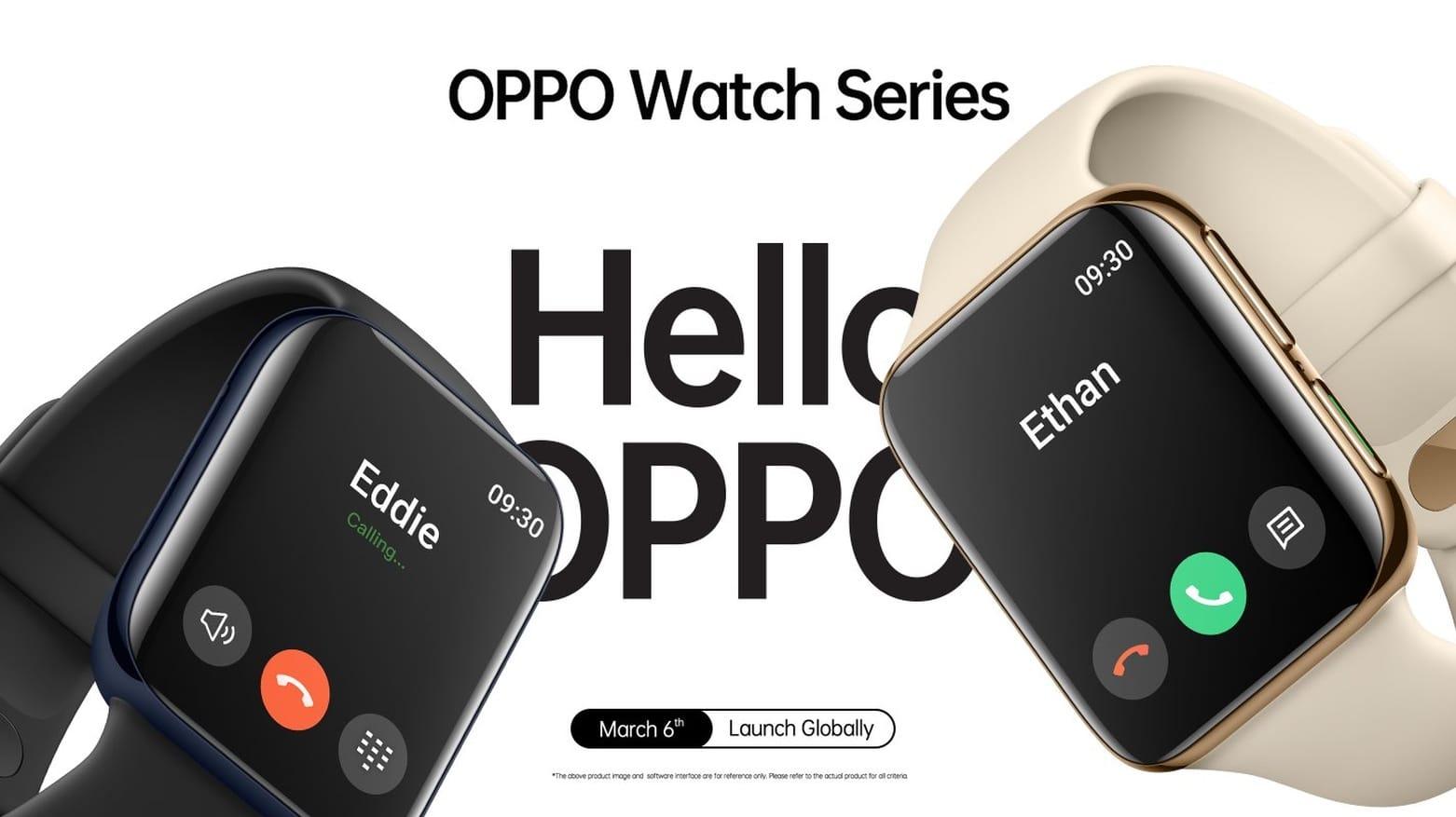 Oppo Watch looks very familiar