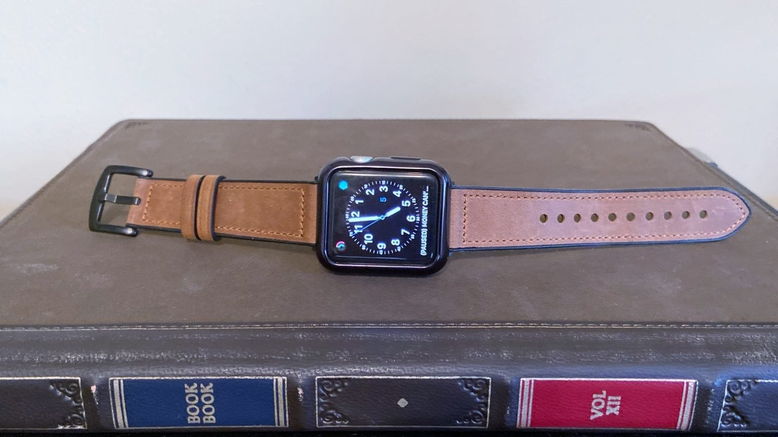 Speidel Light Brown Leather Luxury Watch Band and Protective Case for Apple Watch review