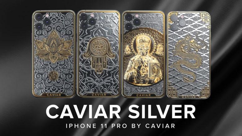 Caviar Silver iPhones