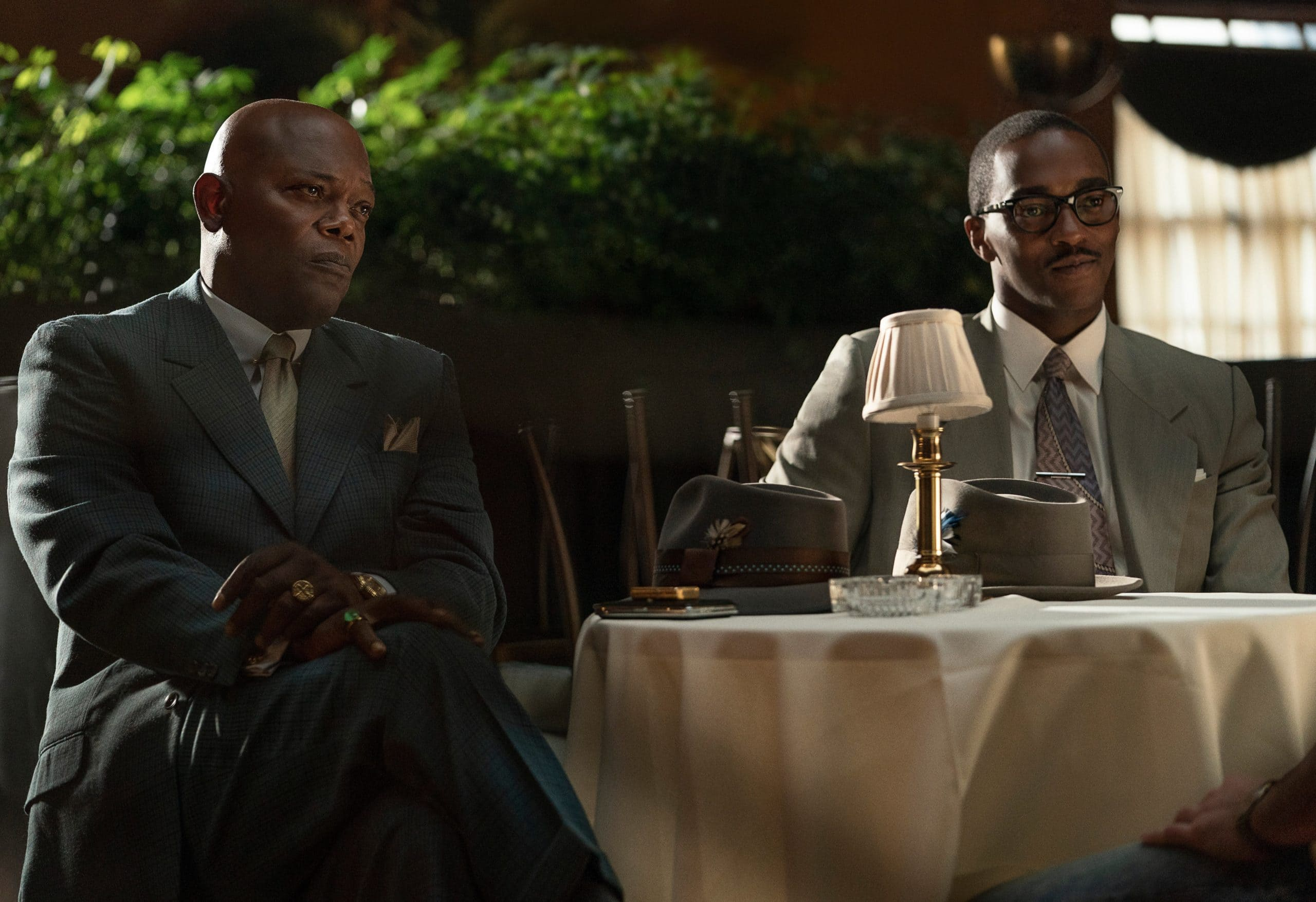 Samuel L. Jackson & Anthony Mackie in The Banker