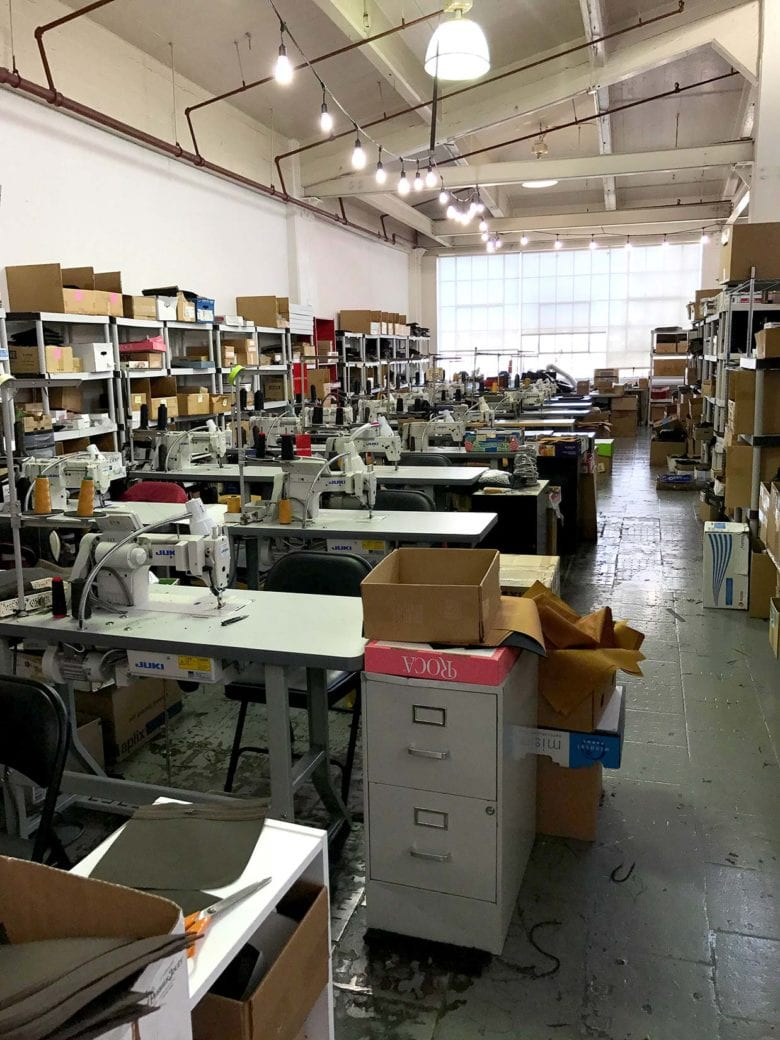 WaterField Designs empty studio