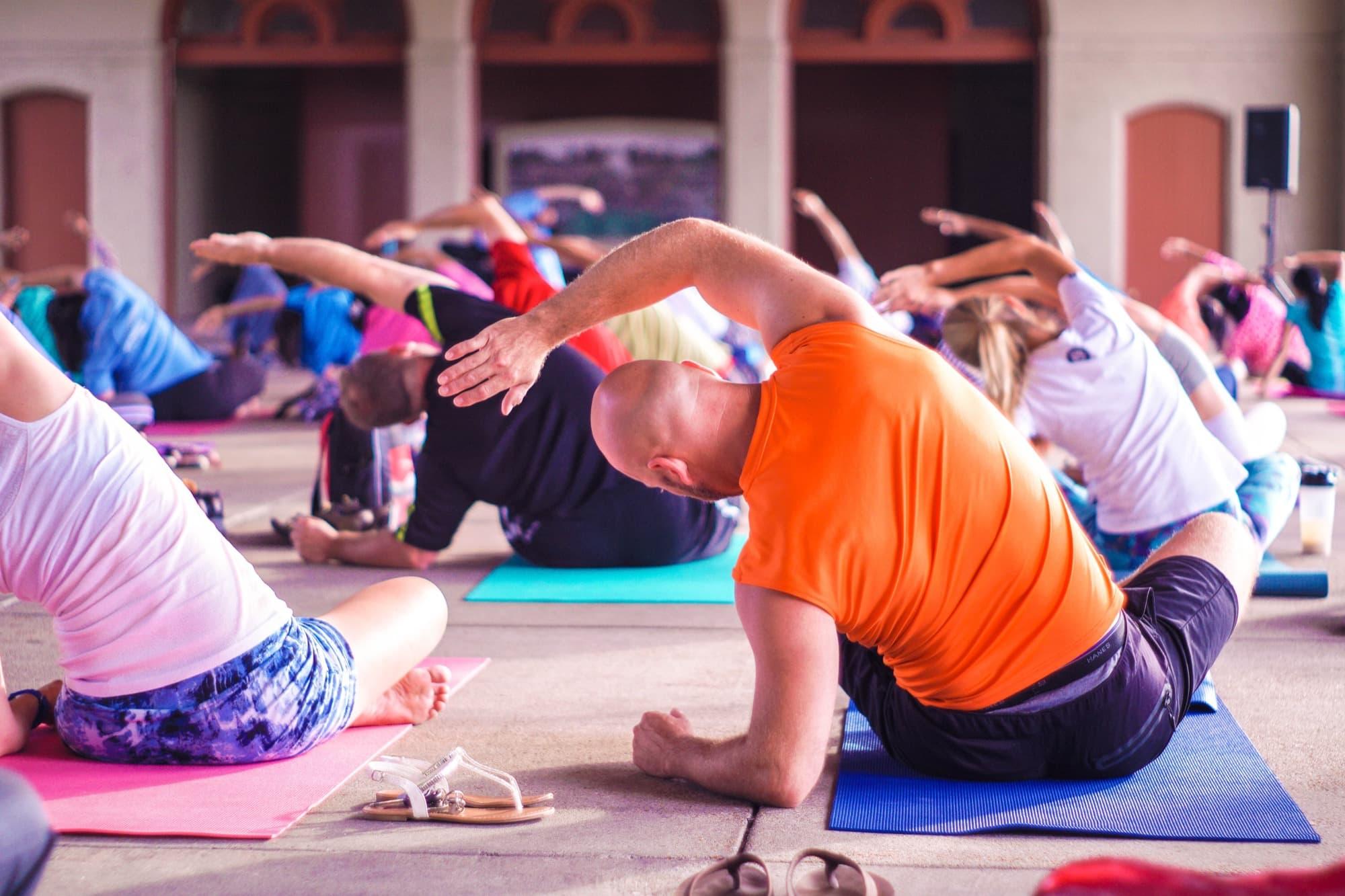 yoga class zoom