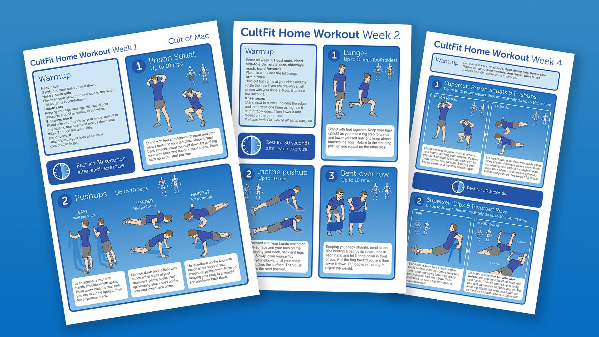 Check out our CultFit Home Workout