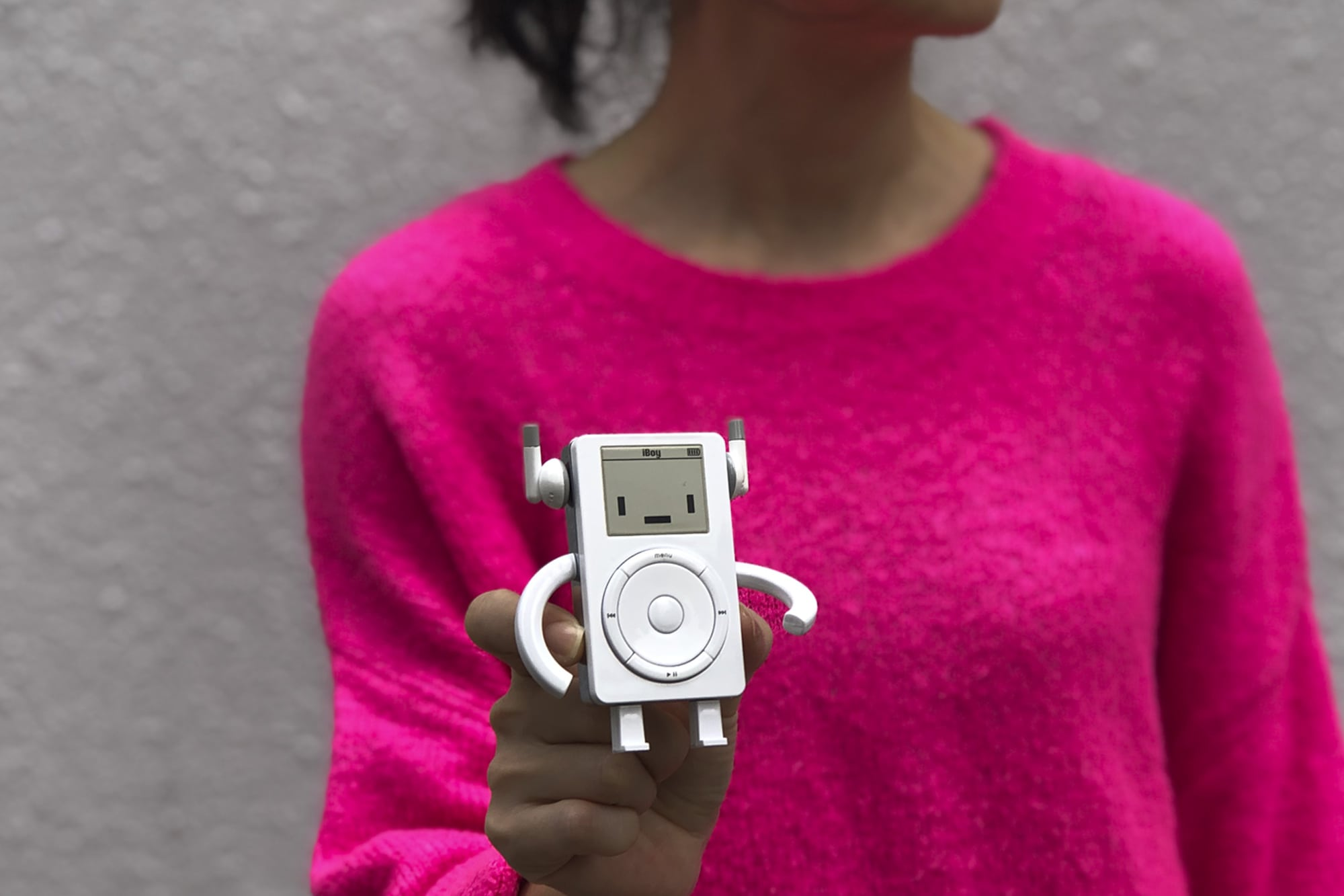 iBoy iPod toy by Philip Lee is just the right size.