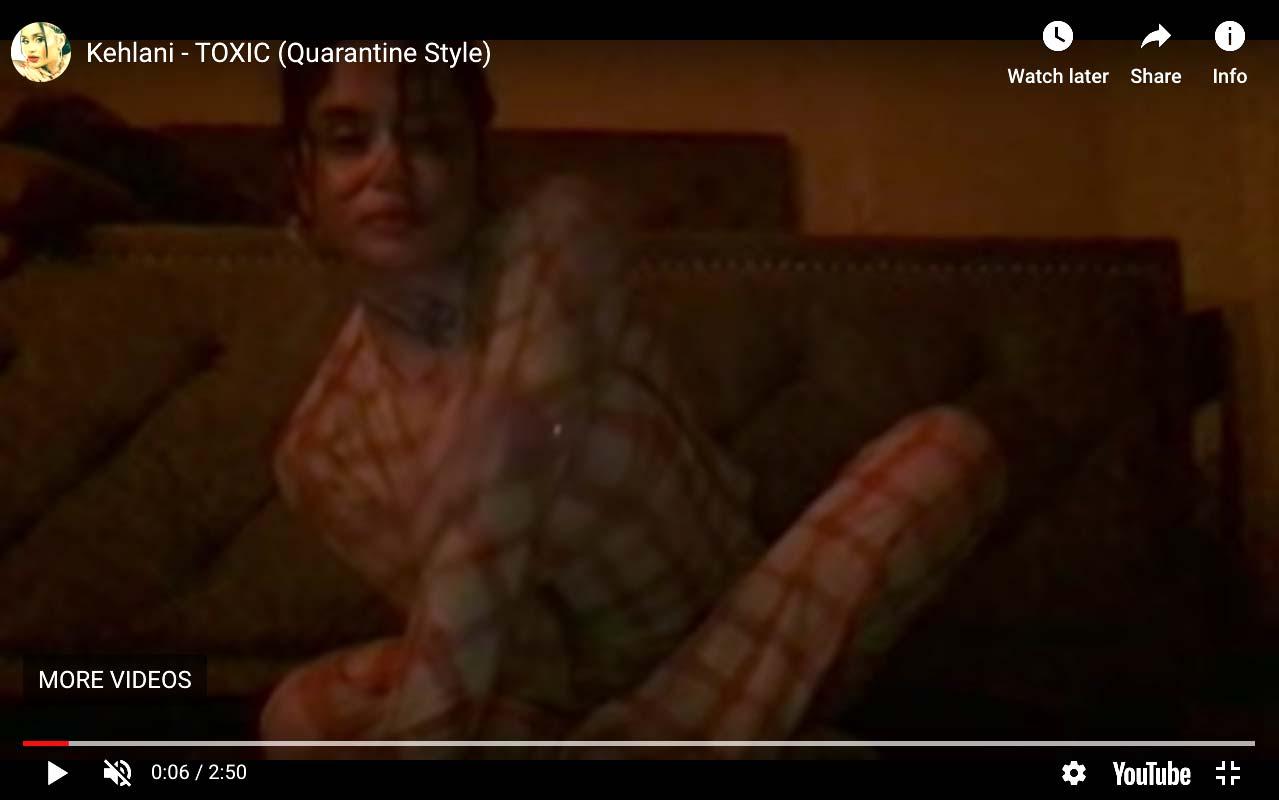 Kehlani music video on iMove