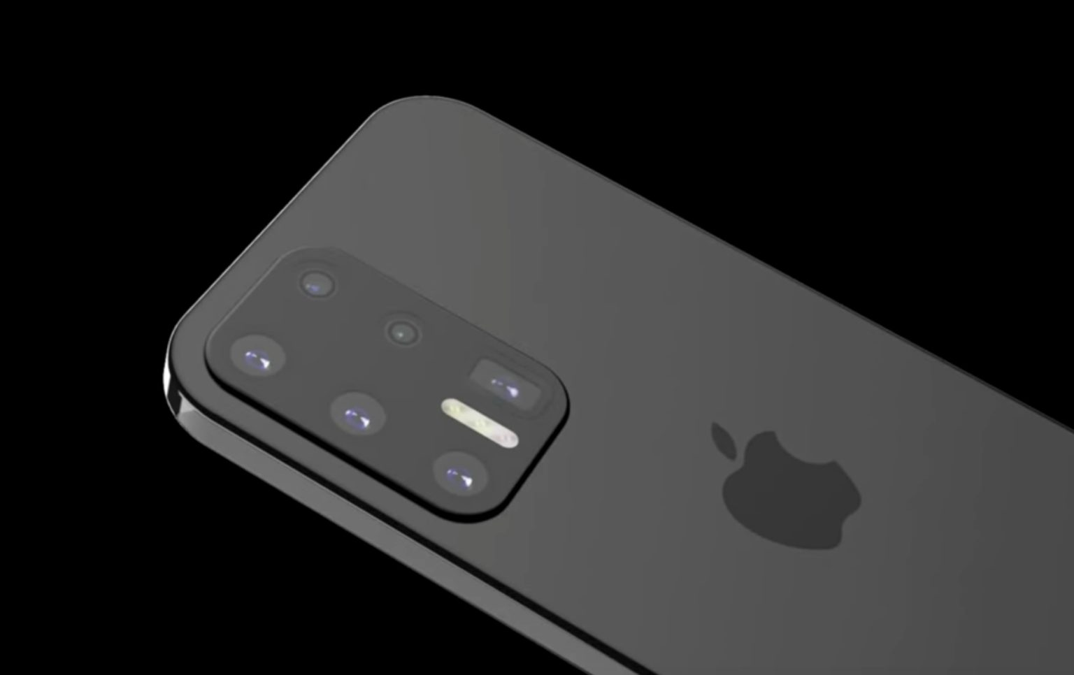 This iPhone 12 concept borrows from Samsung.