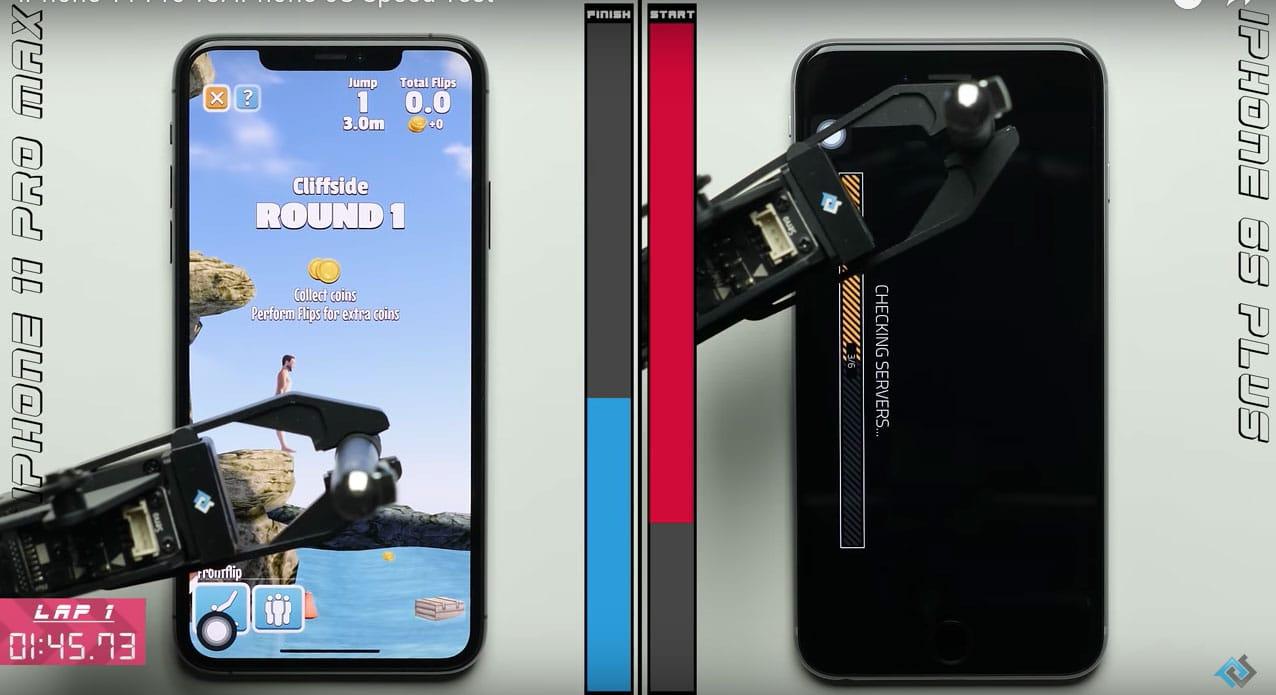 PhoneBuff 11 Pro v 6s Plus speedtest