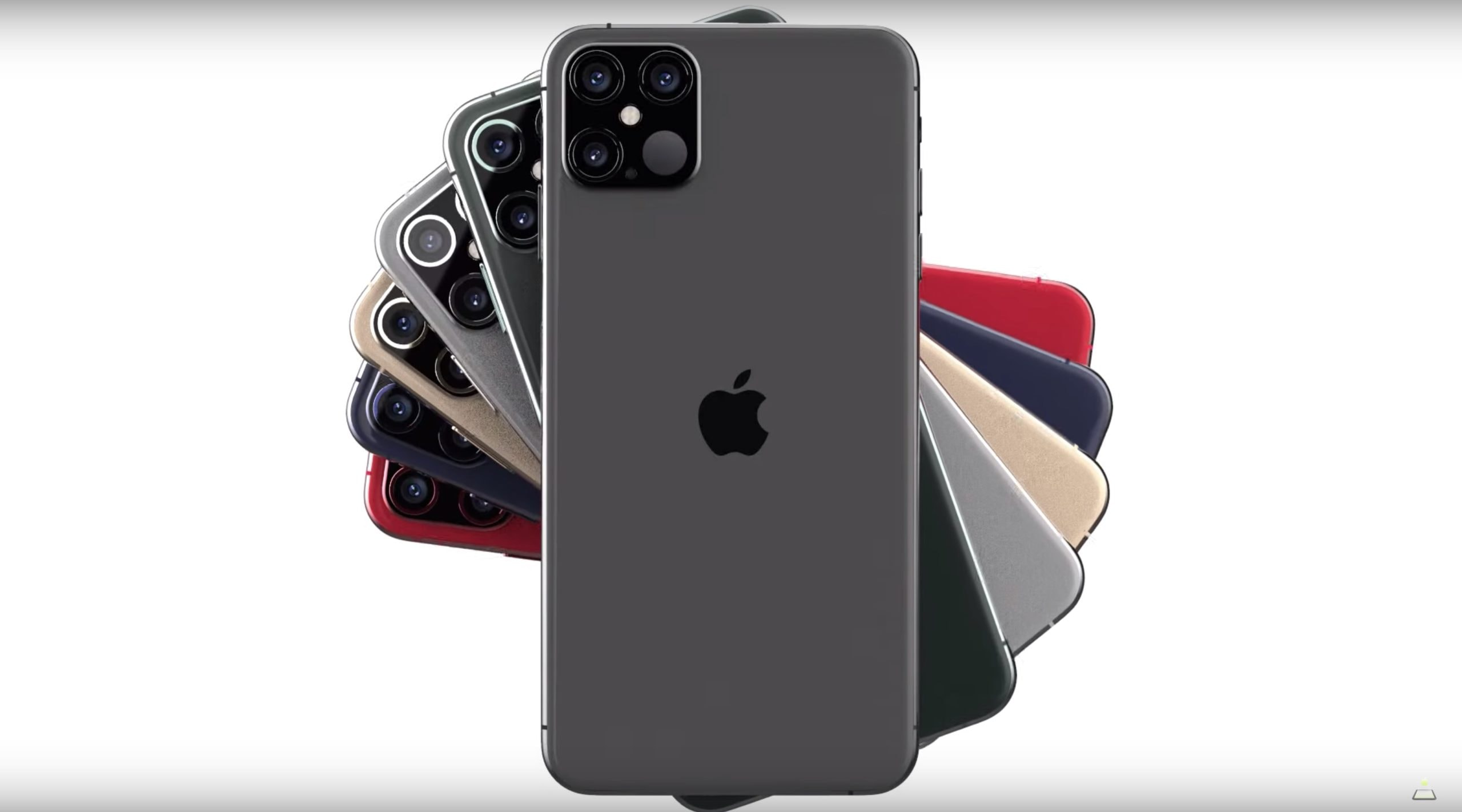 Drool-worthy iPhone 12 Pro concept shows off boxy body and new LiDAR sensor  | Cult of Mac