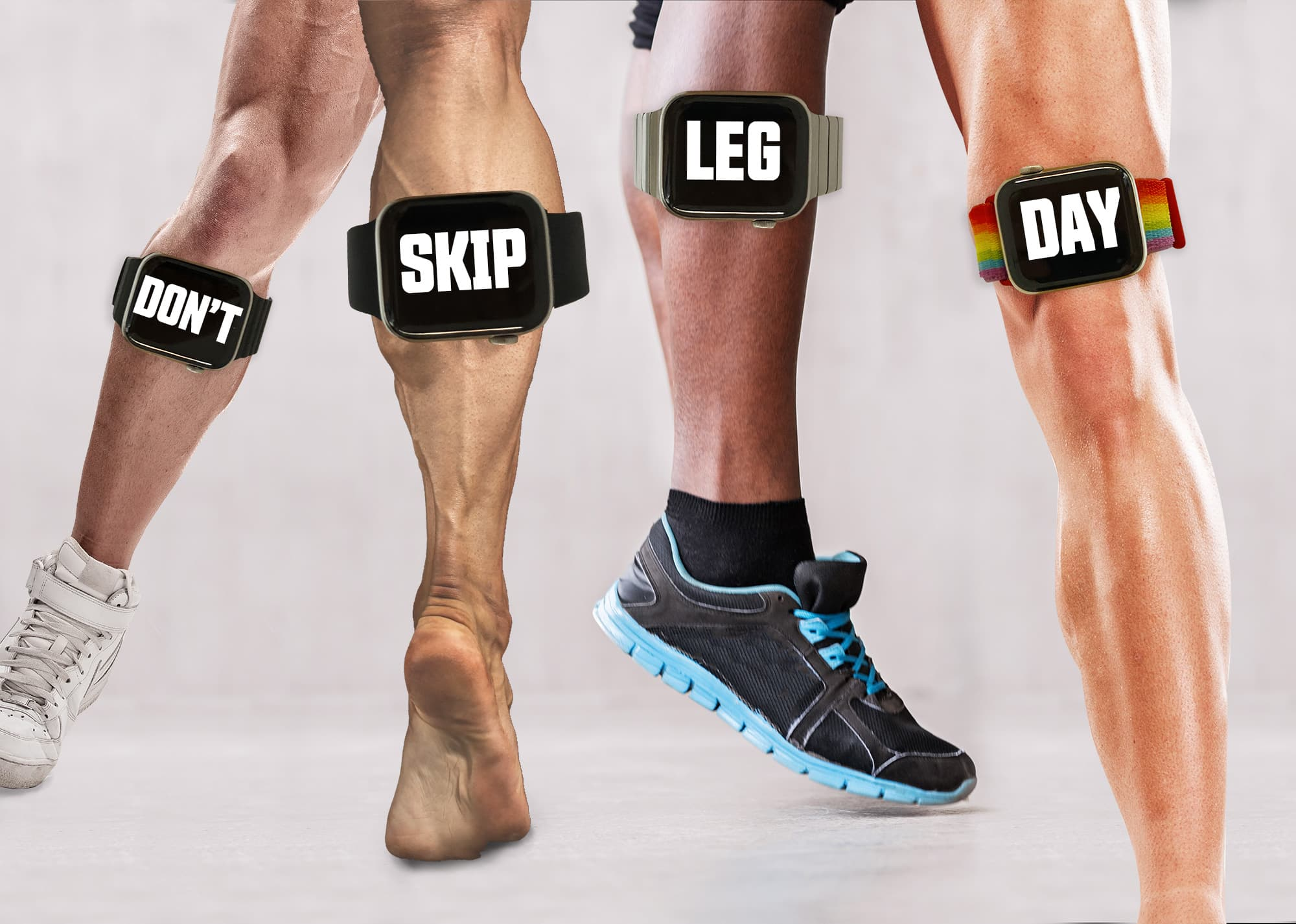 If you want to get in shape, definitely don't skip leg day