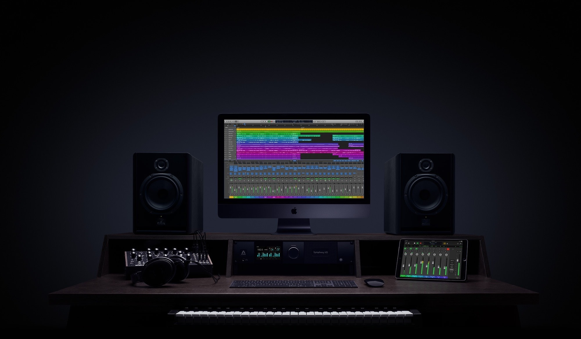 Logic Pro X. Is there anything it cannot do? Get your free three-month trial now.