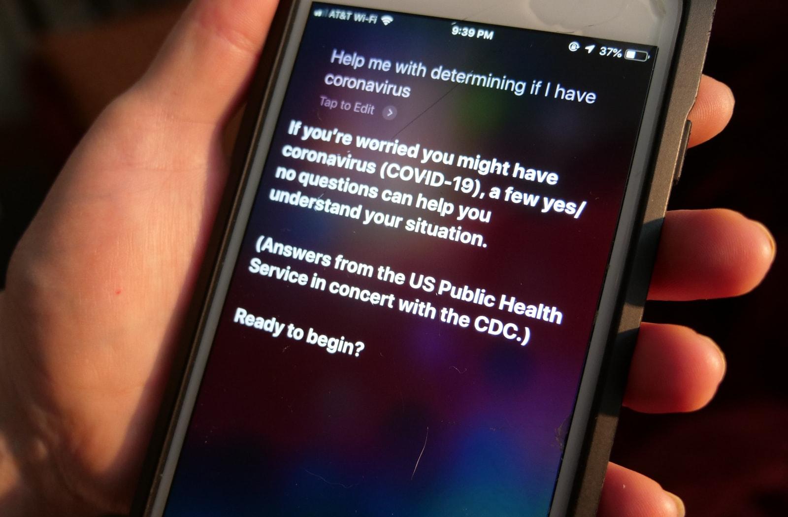 siri.coronavirus.phone.image