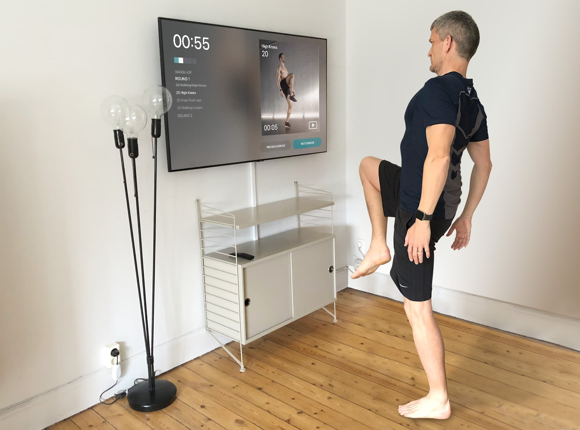 Can't get to the gym? Let your Apple TV bring the gym to you.