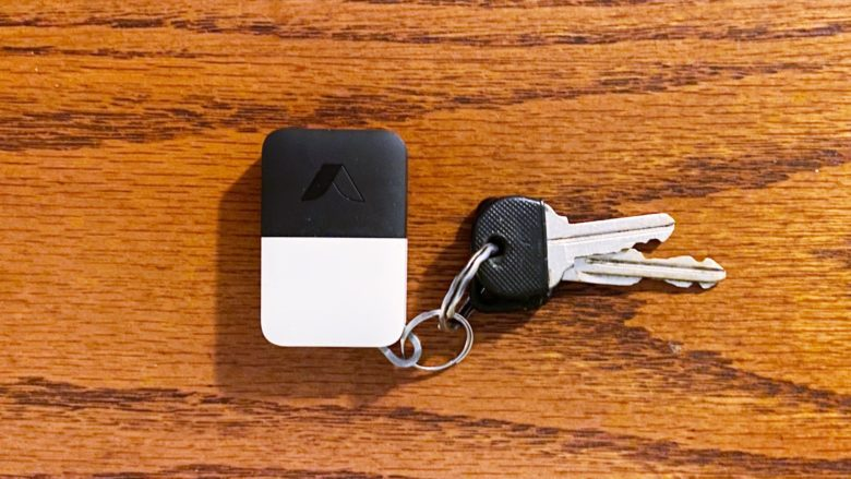Abode Iota key fob is easy to use.