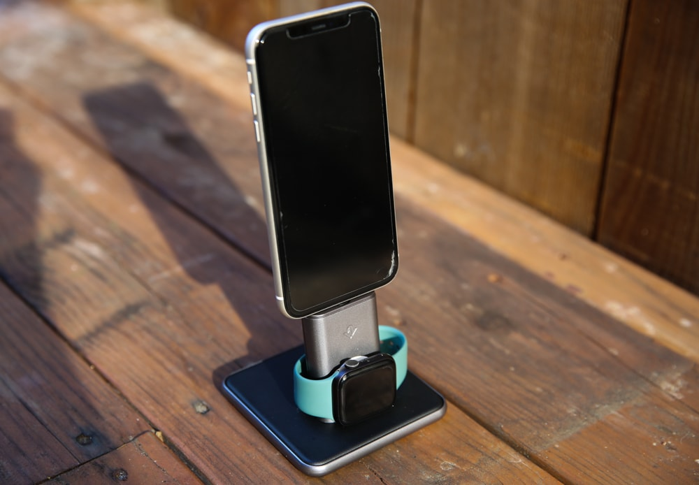 Twelve South HiRise Duet iPhone Apple Watch charging dock