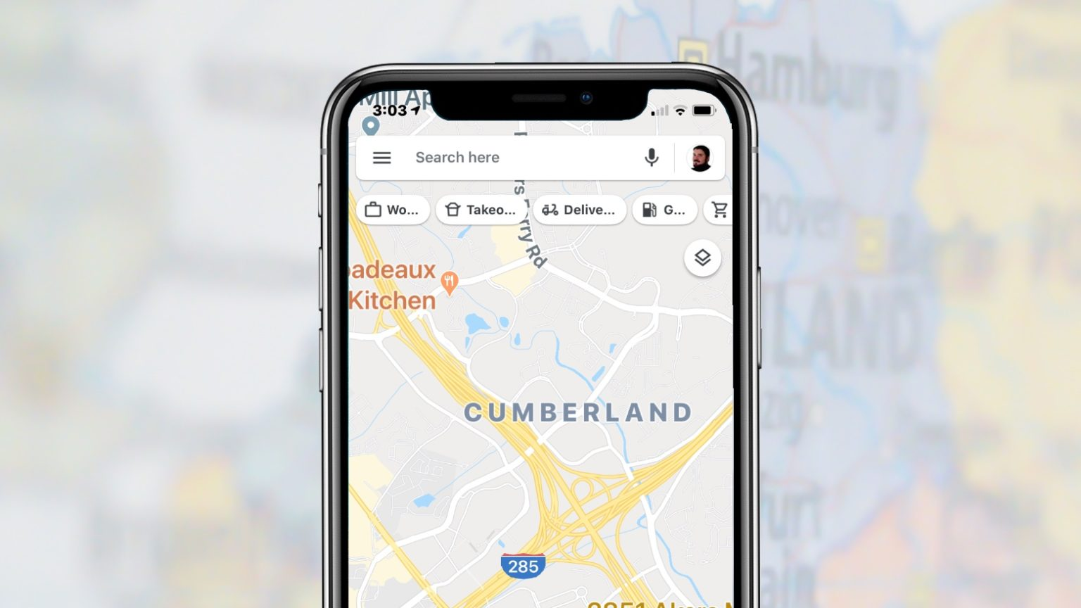 Google Maps adds Takeout and Delivery buttons