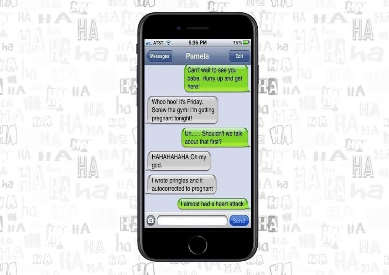 Autocorrect errors vs. editing sent texts