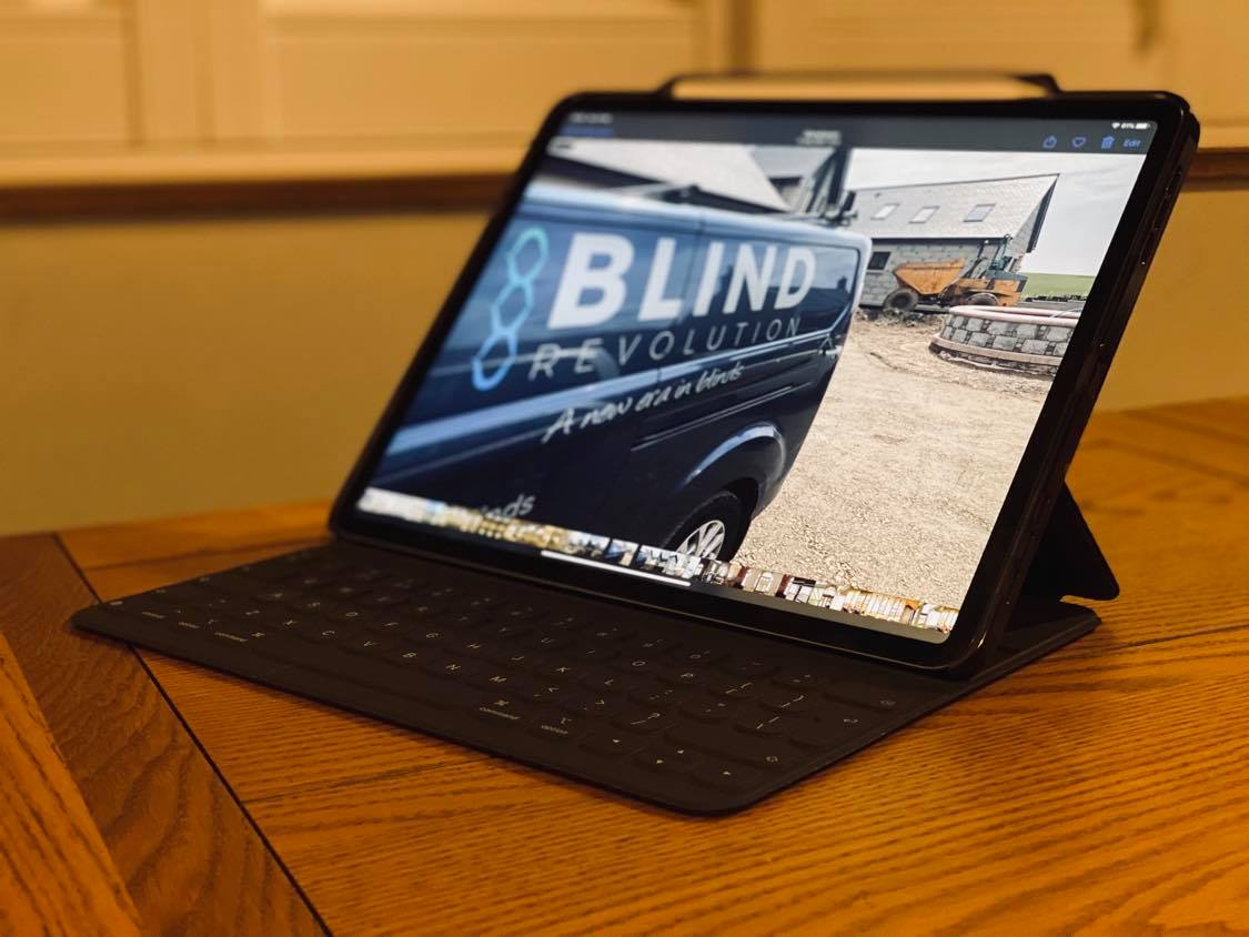 Adding a keyboard makes iPad Pro even more powerful. (Adding cellular would, too.)