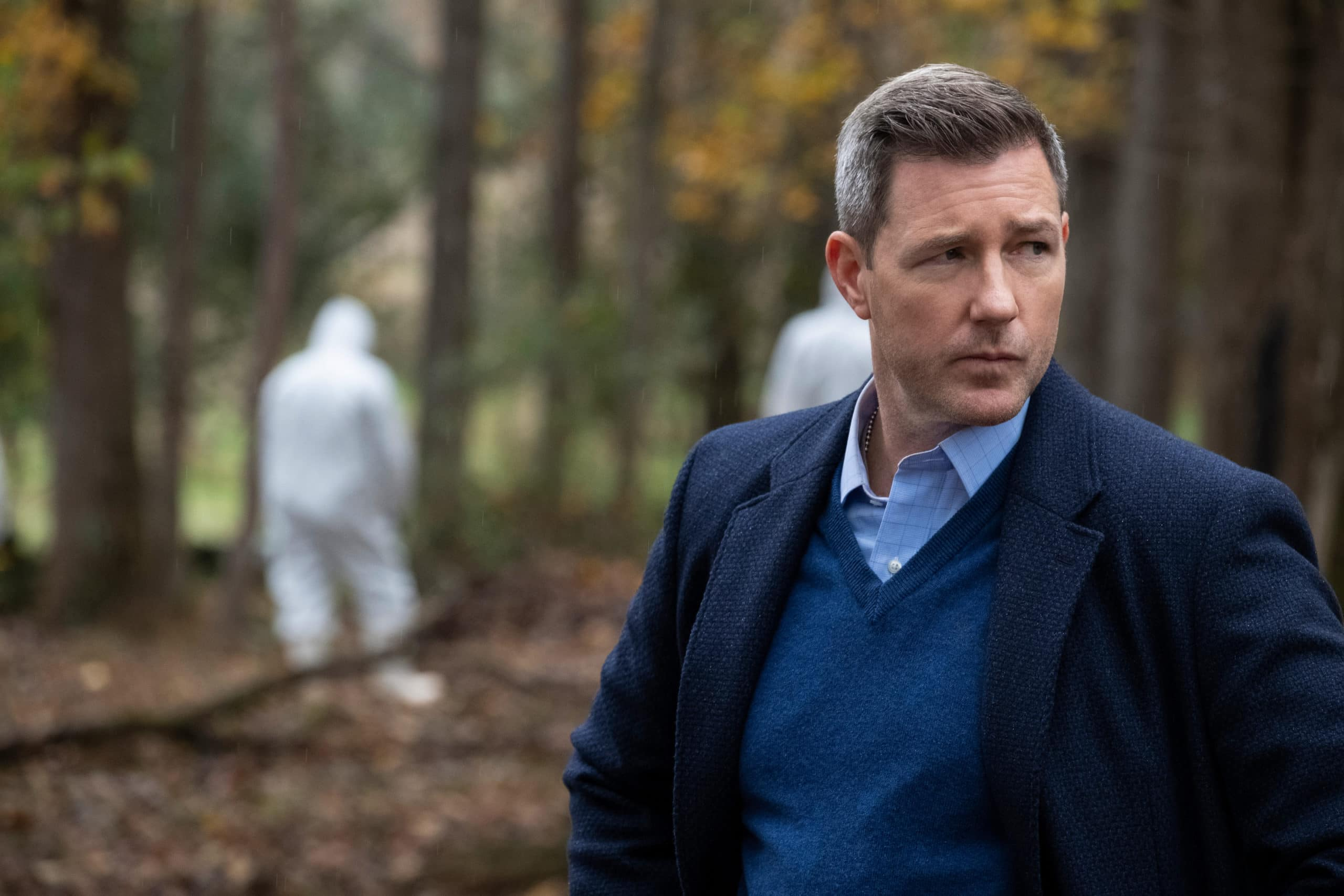 Amazing Stories review: Edward Burns does what he does best: stand around looking inoffensively handsome and normal.