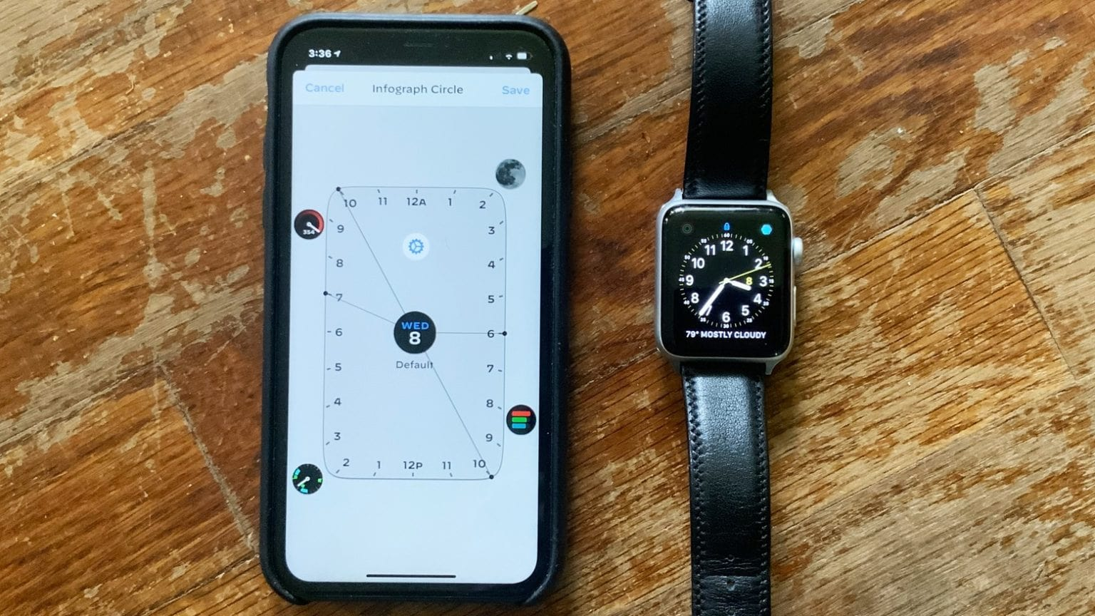 Watchsmith app for Apple Watch