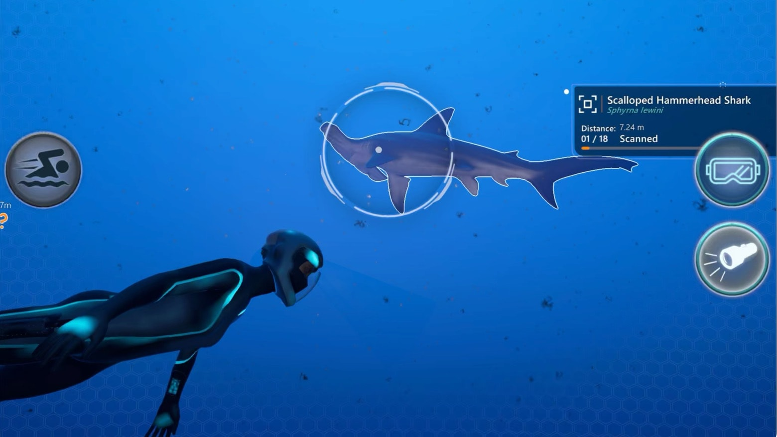 Explore the mysteries of the ocean in Beyond Blue on Apple Arcade