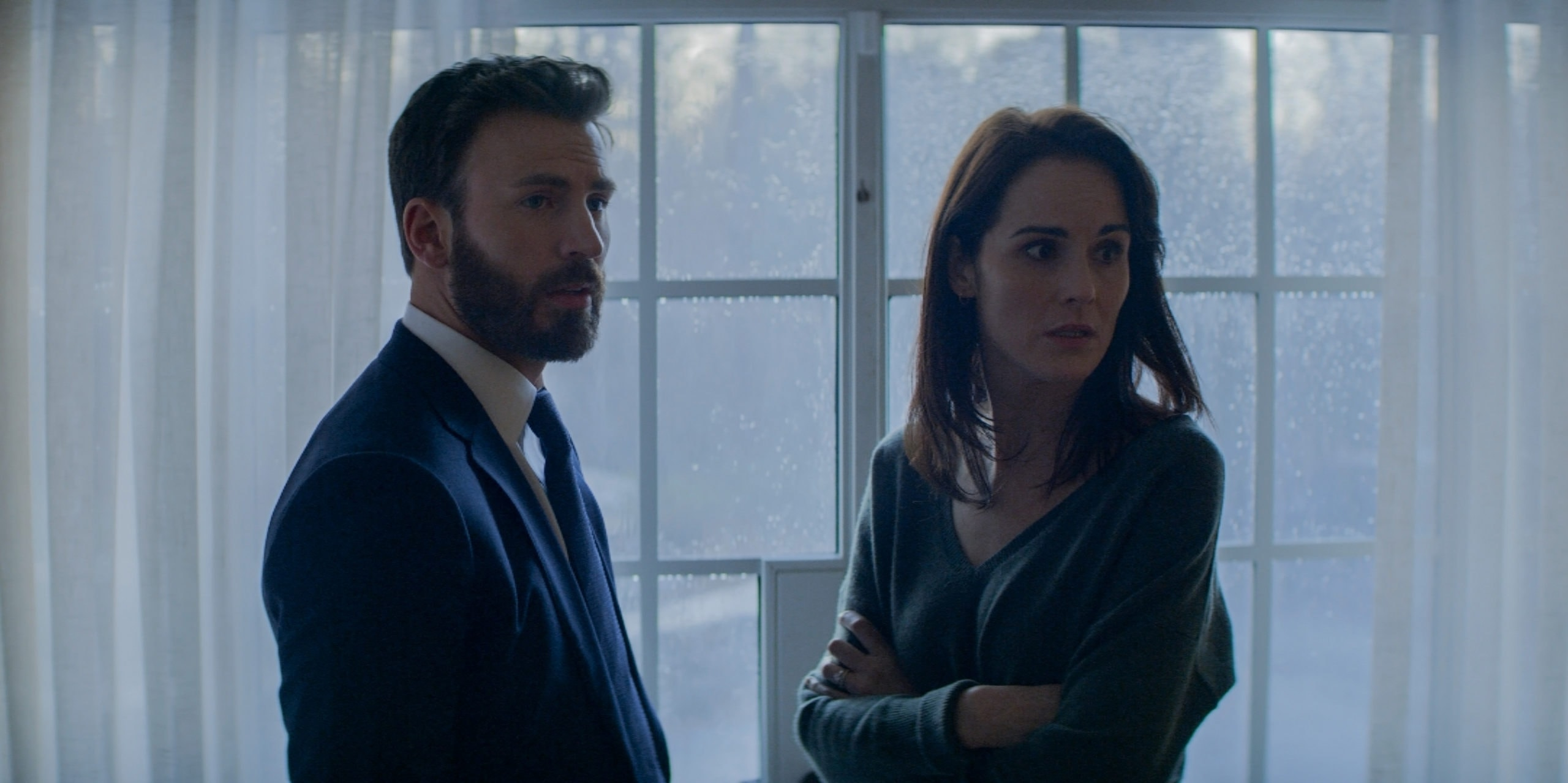 Michelle Dockery and Chris Evans' brittle married couple anchor the excellent Defending Jacob.
