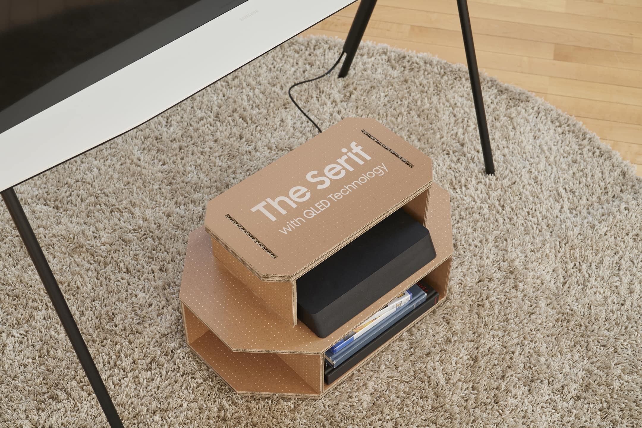 Samsung-TV-box-shelves