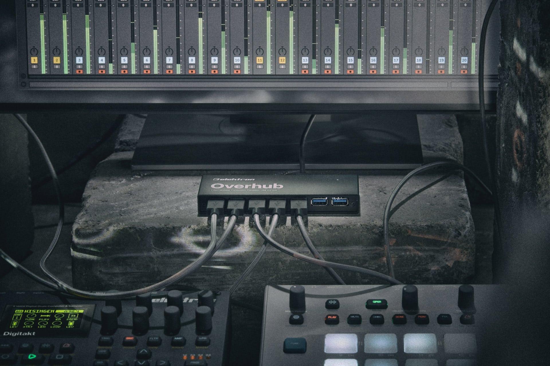 Overbridge bridges the gap between Elektron music hardware and software.