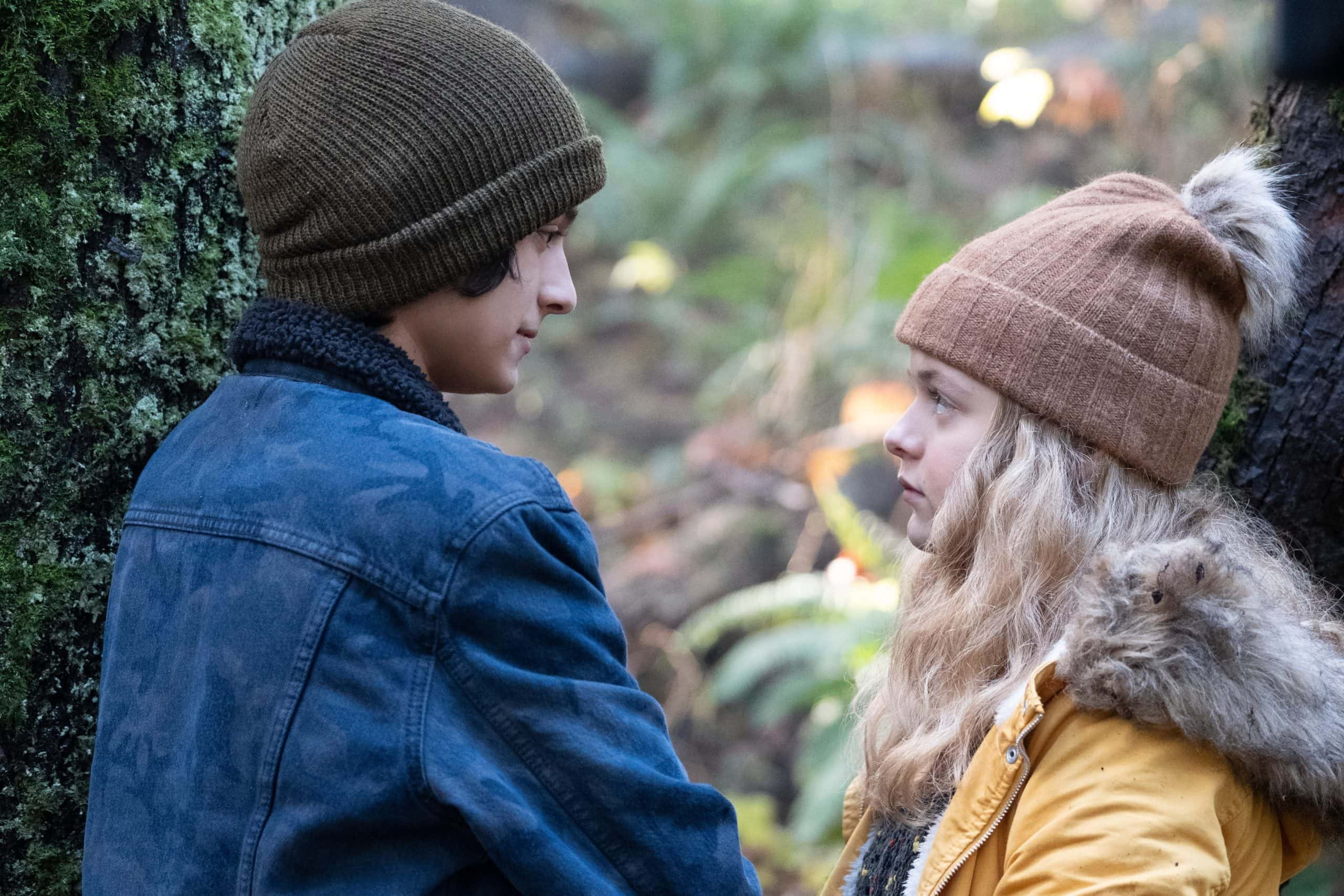 Kylie Rogers and Rio Mangini play believably tentative and mercurial young lovers in Home Before Dark