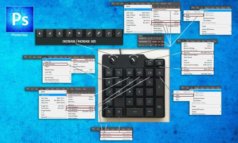 DIY Photoshop keypad by 3dDecors
