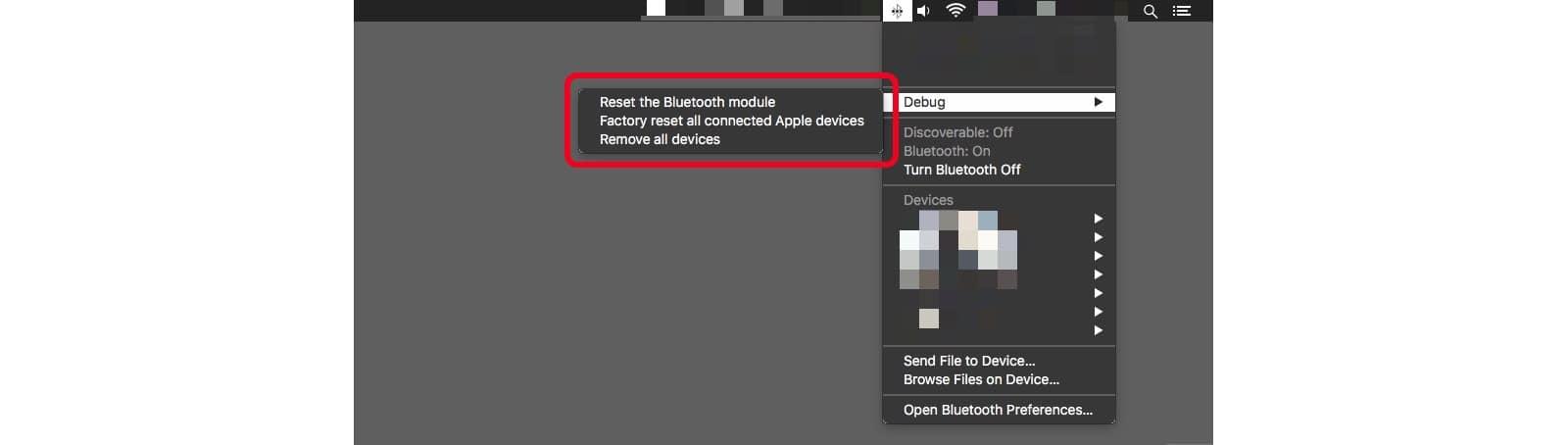 The Mac's hidden Bluetooth debug menu will help you fix Bluetooth problems.