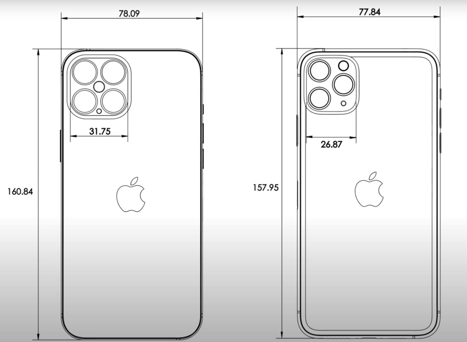 iphone 12 cad design