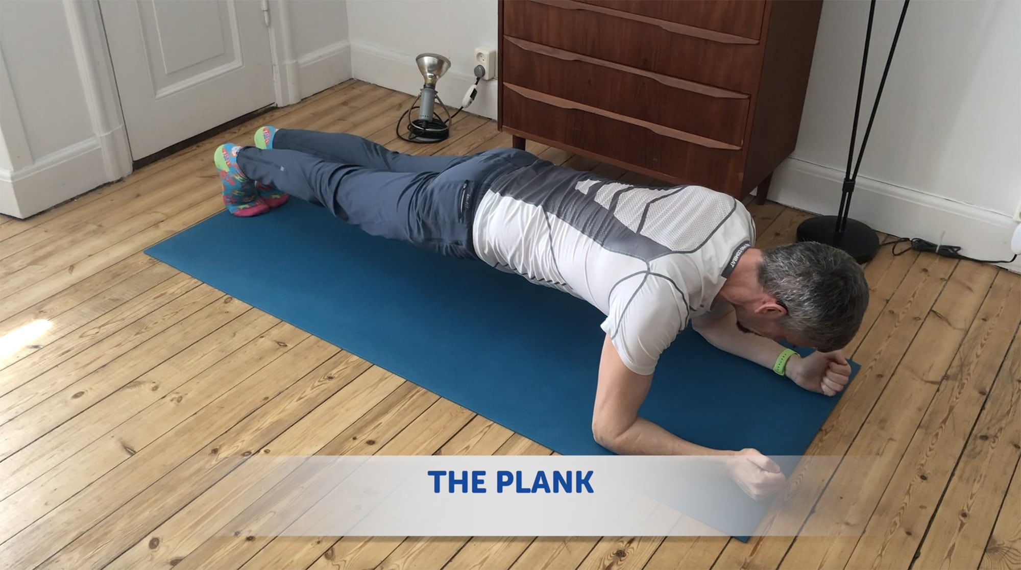 The Plank is harder than it looks