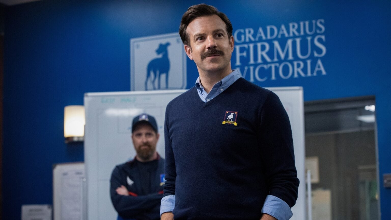 Bumbling coach Ted Lasso is back, and headed for Apple TV+.