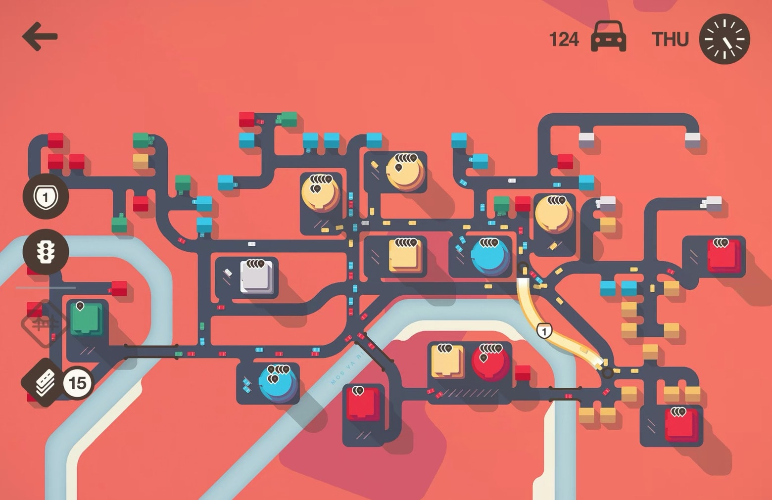 Mini Motorways is one of the best games on Apple Arcade. The goal of is to draw the roads that drive the city