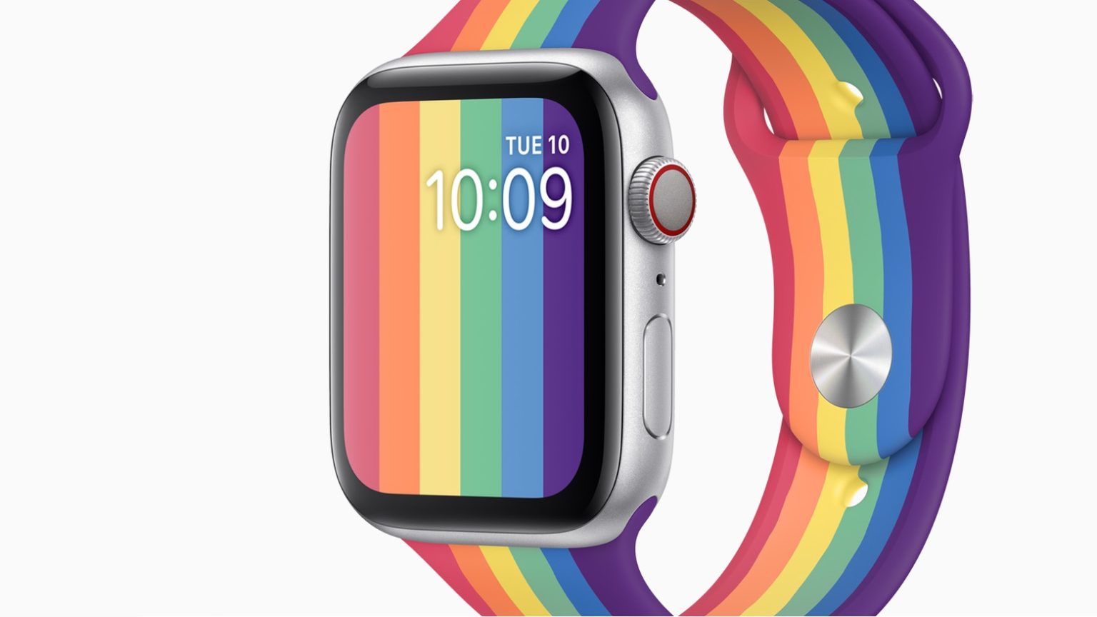 This Apple Watch Pride face debuted in watchOS 6.2.5