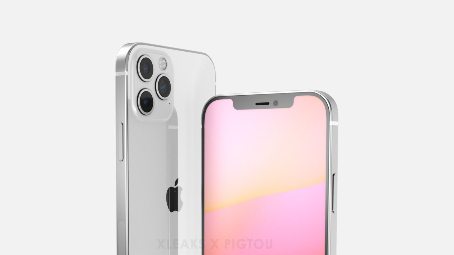 Render shows iPhone 12 camera with three lenses