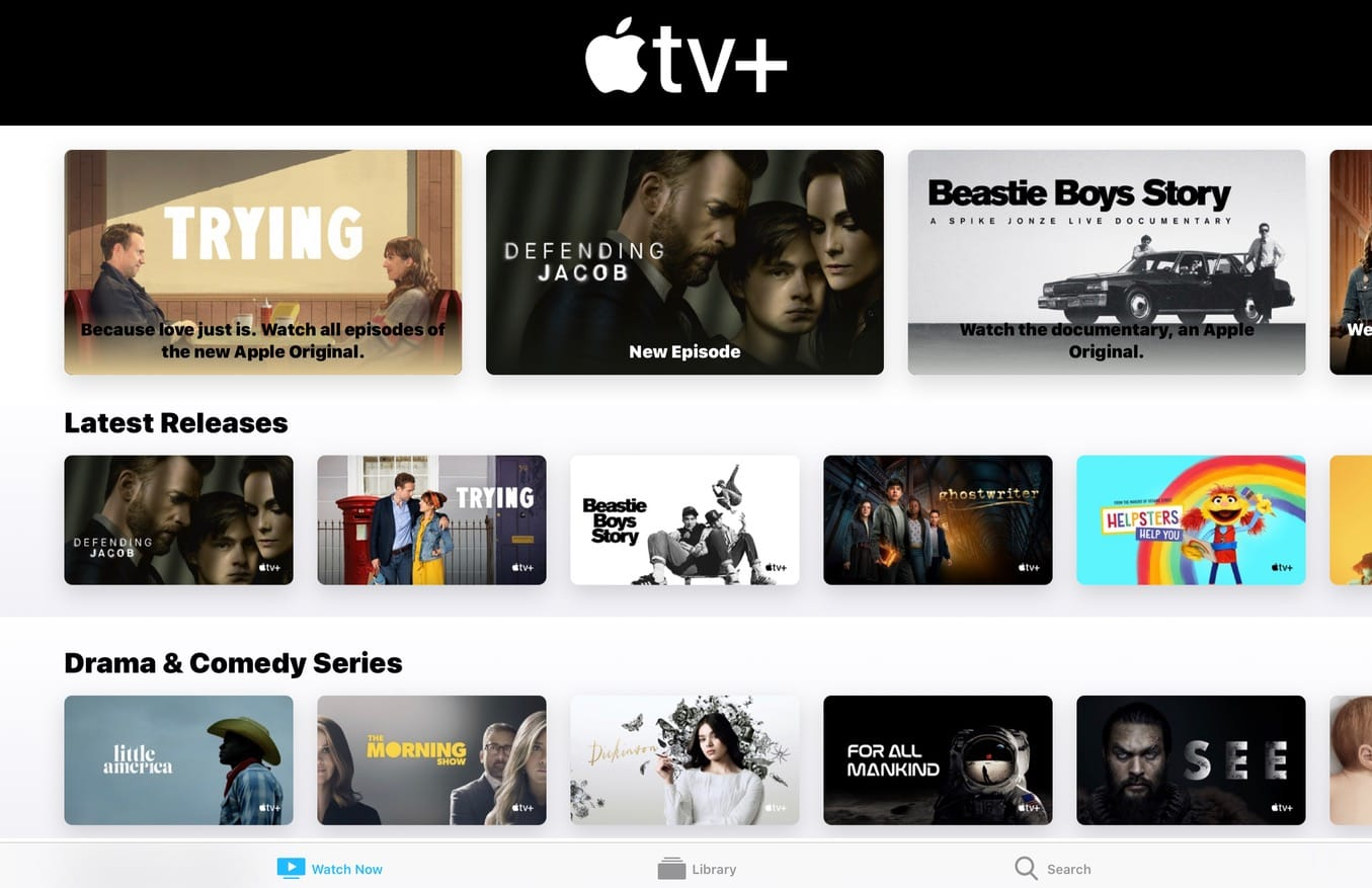 Apple TV+ is free to everyone who buys a new iPhone, Mac or iPad.