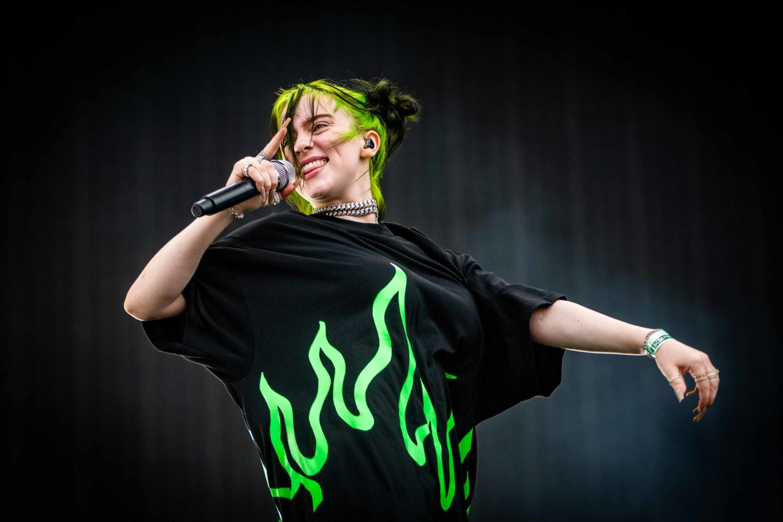 Billie Eilish and her father kick off a new radio show called