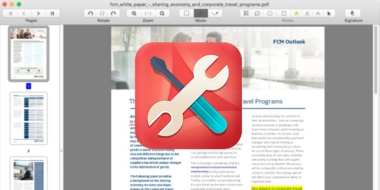Cisdem PDF lets you easily and quickly edit, merge, split, convert and sign PDFs