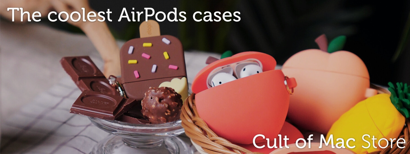 See the coolest AirPods cases at the Cult of Mac Store