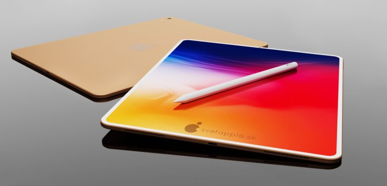 2020 iPad Air Concept with Apple Pencil 2