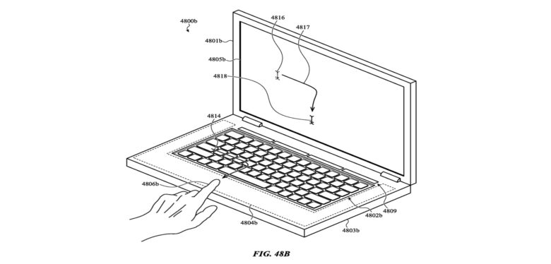 Making the top of MacBook keys touch sensitive would make them even more useful.