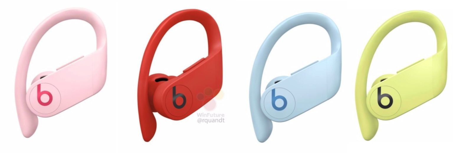 Feast your eyes on these fresh new color options for the upcoming second-gen PowerBeats Pro.