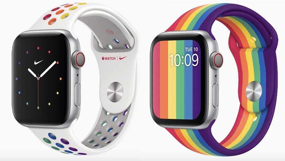 Two new Apple Watch Pride bands show Cupertino's support of LGBTQ community.