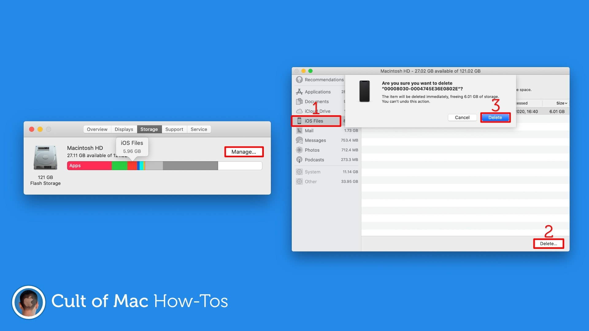 Remove-iOS-Files-Mac