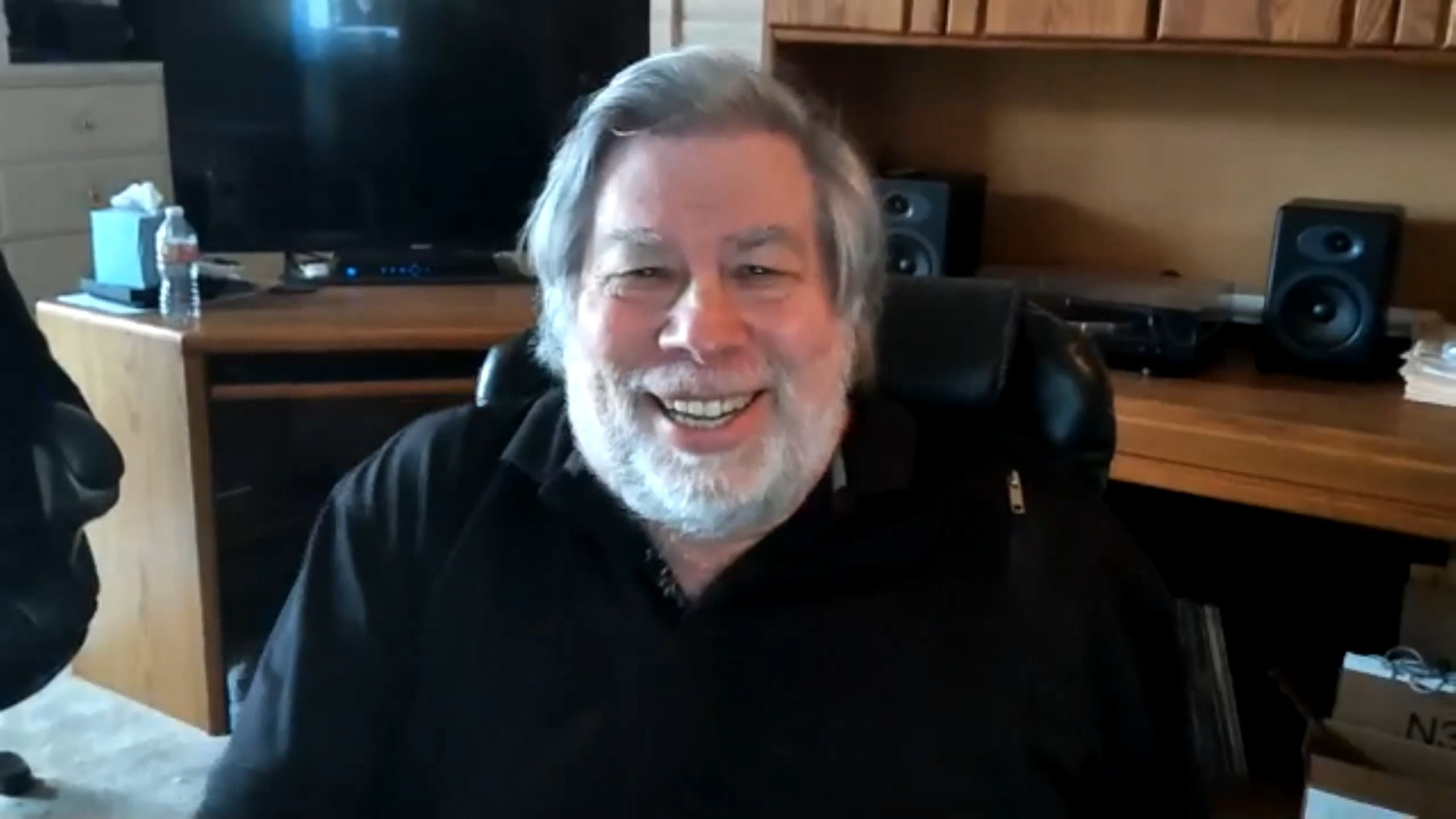 Guess who showed up as a surprise attendee at the online Newton conference: Steve Wozniak!