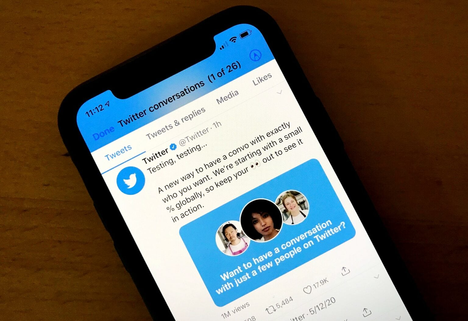Twitter tests new feature that lets users limit who can reply.