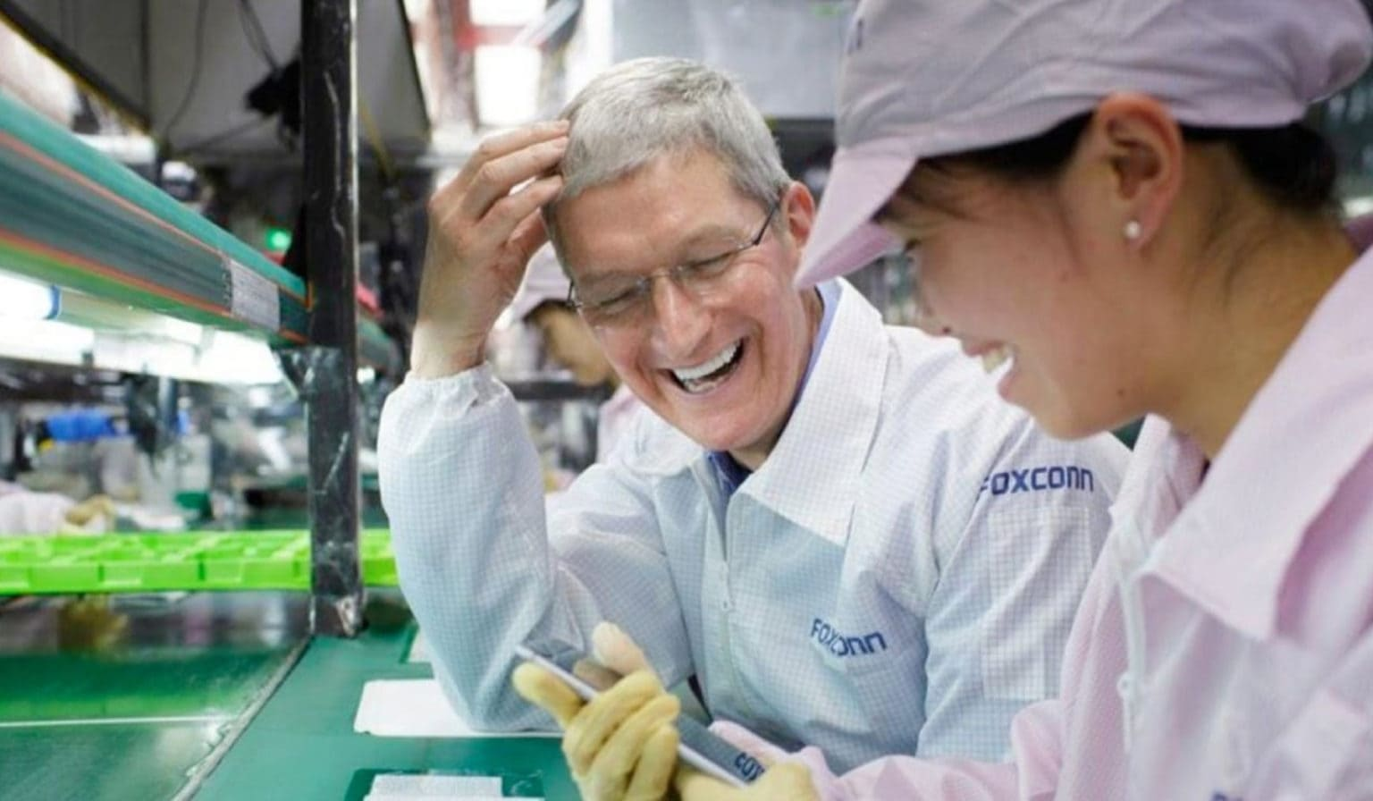 Apple's relationship with Foxconn on the rocks