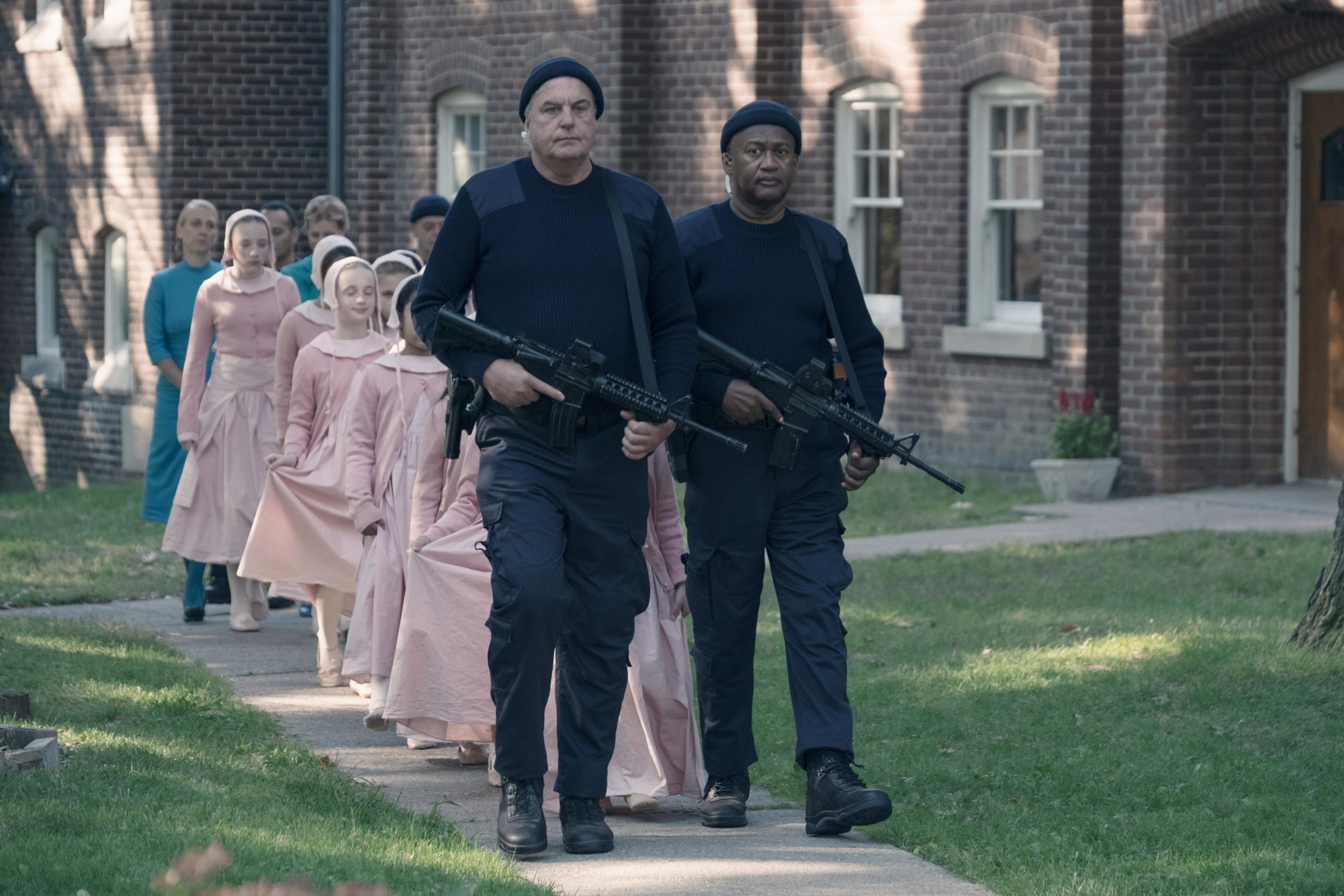 The Handmaid's Tale review: In this brutal dystopia, children are the holy grail.